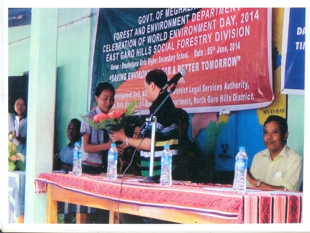World Environment Day held at East Garo Hills Social Forestry Division