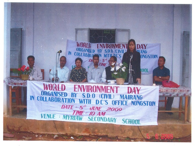 World Environment Day held at Myriaw Secondary School