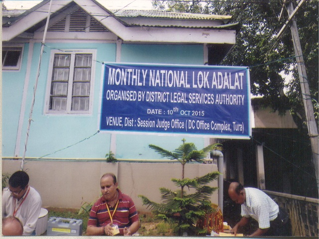 National Lok Adalatat,Tura