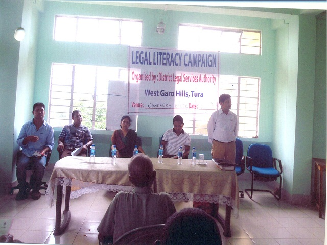 Legal Literacy Campaign held at Gambagre C&RD Block