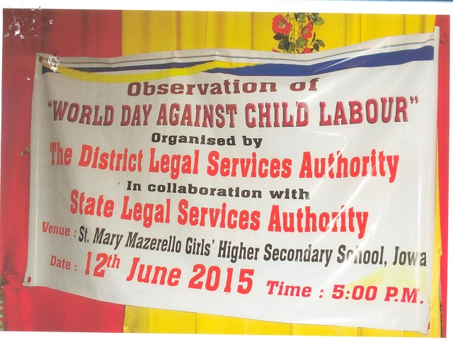 Child Labour Day held at Jowai
