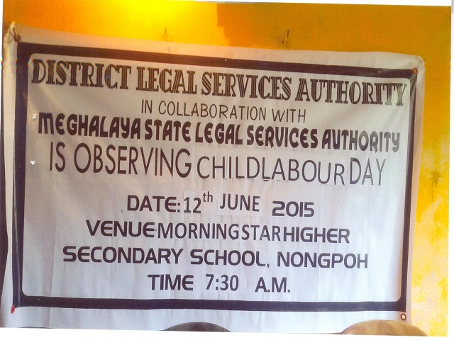 Child Labour Day held at Morningstar Higher Secondary School