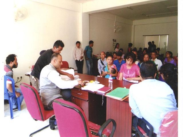 National Lok Adalat held at D&S.J