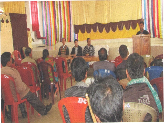 National Lok Adalat held at D.C, Mawkyrawat