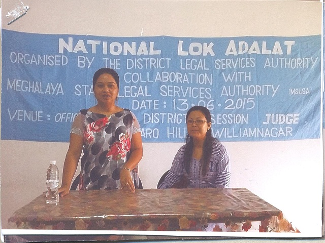 National Lok Adalat held at District & Sessions Judge