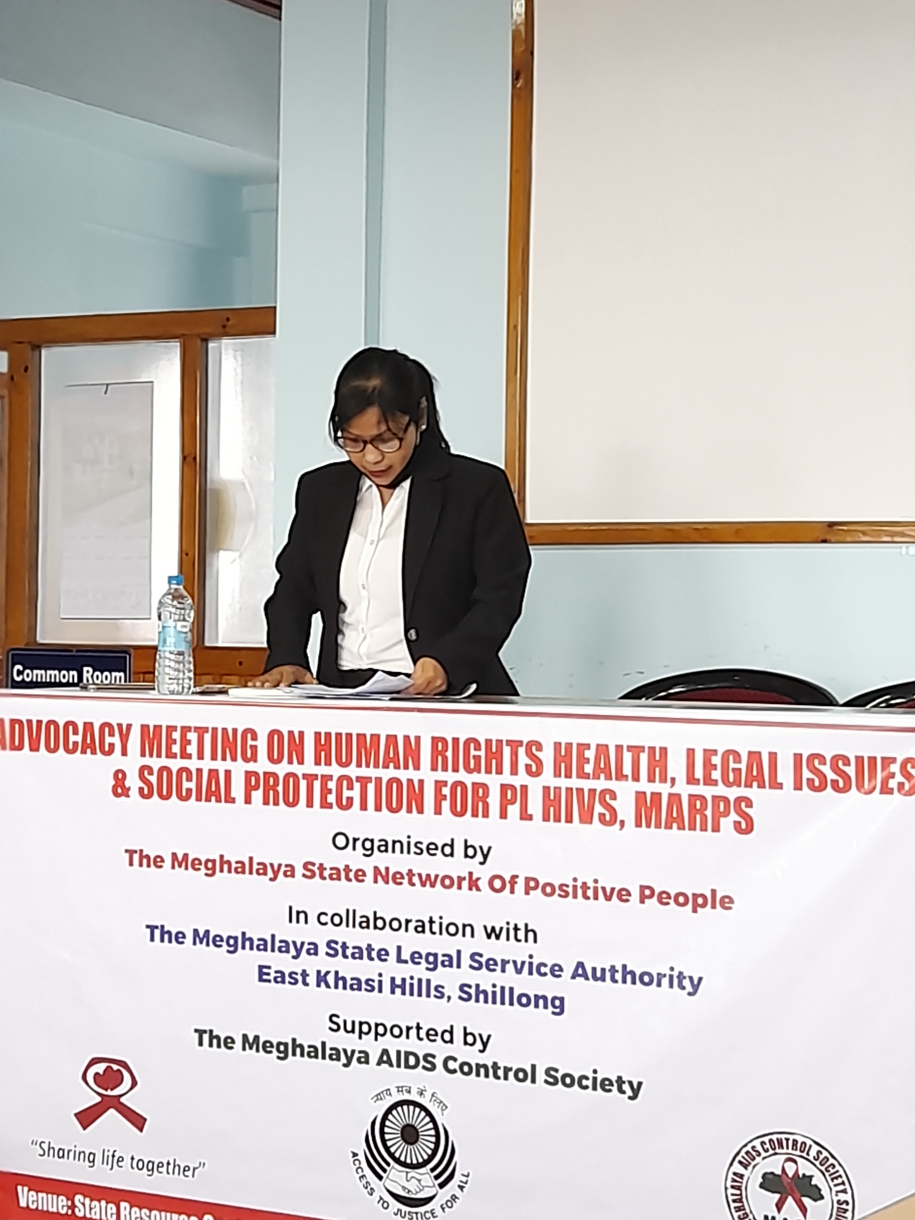 Advocacy Meeting On Human Rights, Health Rights, Legal Issues And Social Protection Scheme For Plhiv And Marps On The 22nd March 2021 In Collaboration With The Meghalaya State Network For Positive People