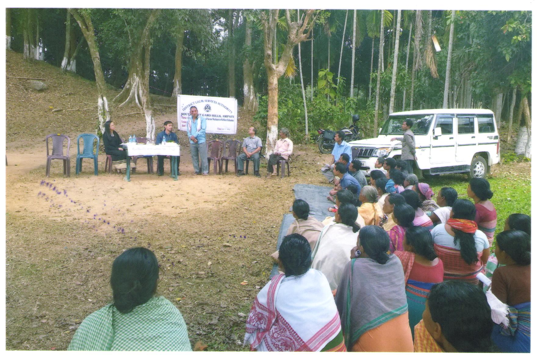 Legal Awareness Programme held at Gofraigoan village on the 19-12-2018