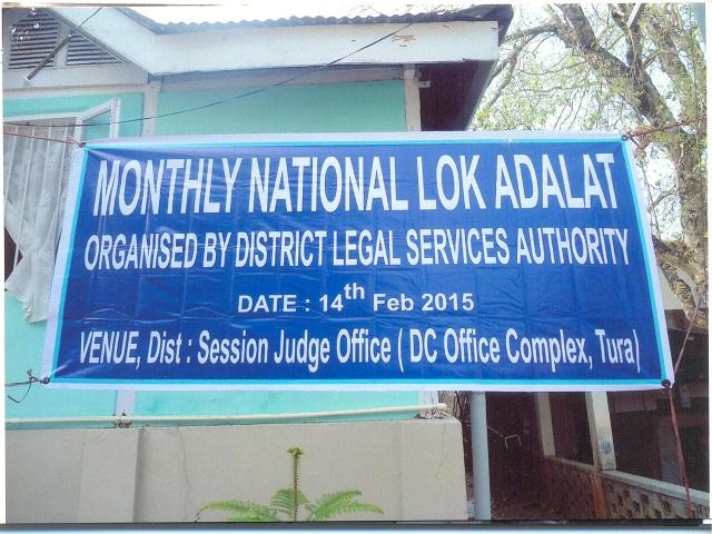 National Lok Adalat, Tura