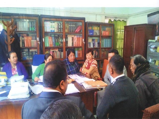 National Lok Adalat held at D&S.J, Shillong East Khasi Hills District,Shillong
