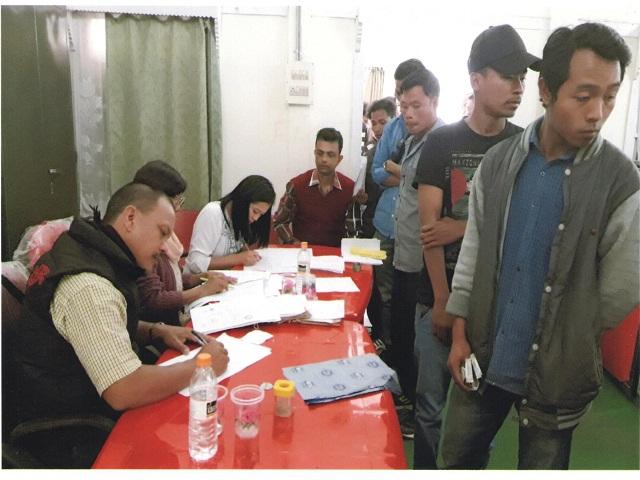 National Lok Adalat held at D&S.J,Tura