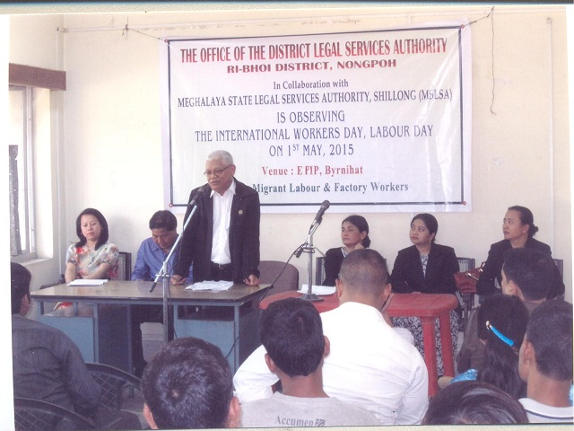 International Worker's Day held at EPIP, Byrnihat
