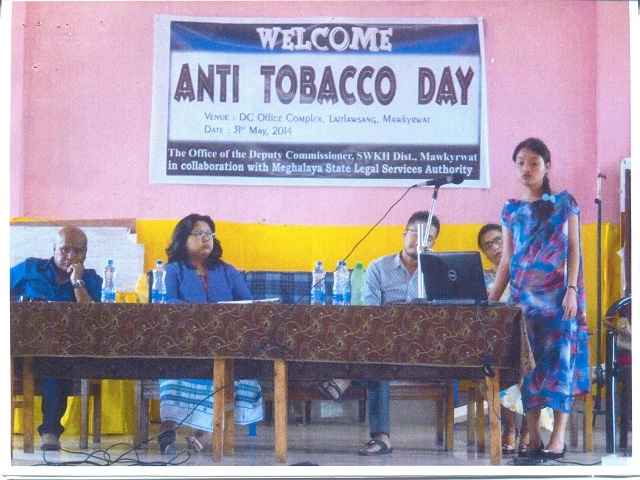 Anti Tobacco Day at D.C. Office