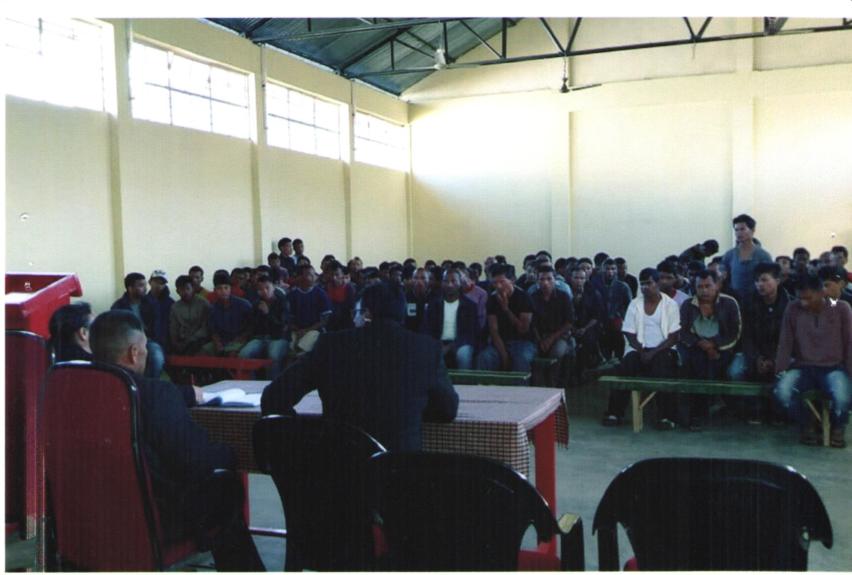 """OBSERVATION OF """"WORLD HUMAN RIGHTS DAY"""" HELD ON 10.12.2018 AT DISTRICT JAIL MAWSYNTAI RI BHOI DISTRICT"""
