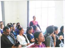 Women's day held at D&S.J, Office, Ri-Bhoi District-3