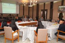 REVIEW MEETING OF ALL DLSA ORGANISED BY THE MSLSA ON THE 7.2.2020