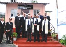 MSLSA Inauguration of Legal Care & Support Centre attached to the CWCs in All the Districts By Hon'ble Mr. Justice Madan B. Lokur Judge, Supreme Court of India & Executive Chairman, NALSA